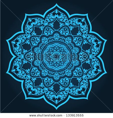 450x470 Islamic Patterns Vector Traditional Persian Islamic Pattern