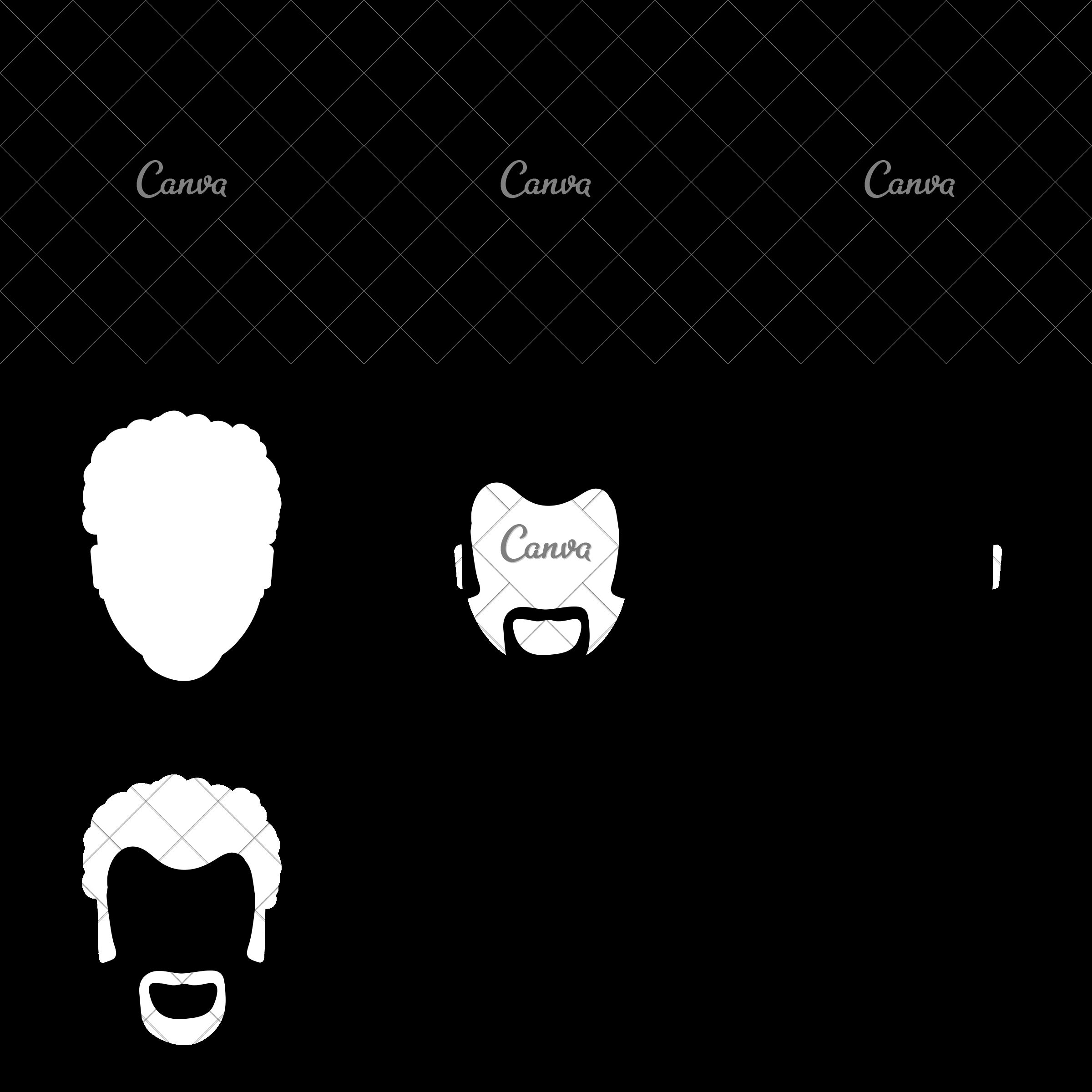 2400x2400 Man Male Avatar Person People Icon. Vector Graphic