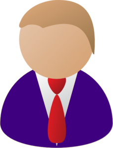 228x297 Person Icon Purple Clip Art
