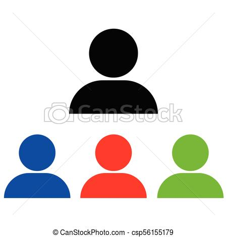 450x470 Person Icon, Person Icon Vector, In Trendy Flat Style Isolated On