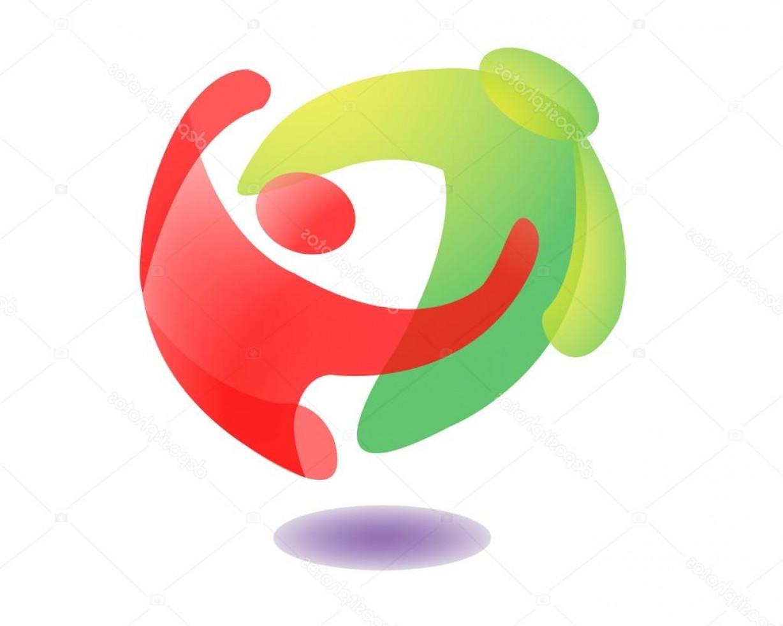 1228x982 Stock Illustration People Hug Logo Icon Orangiausa