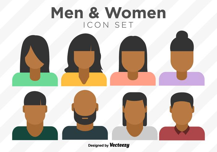 700x490 Vector Set Of Colorful Person Icons