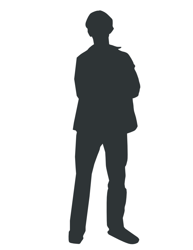 Person Outline Vector