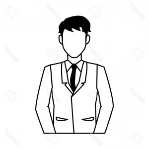300x300 Photostock Vector Person Bracing Icon On White Background Person