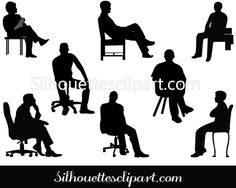 Person Sitting Vector