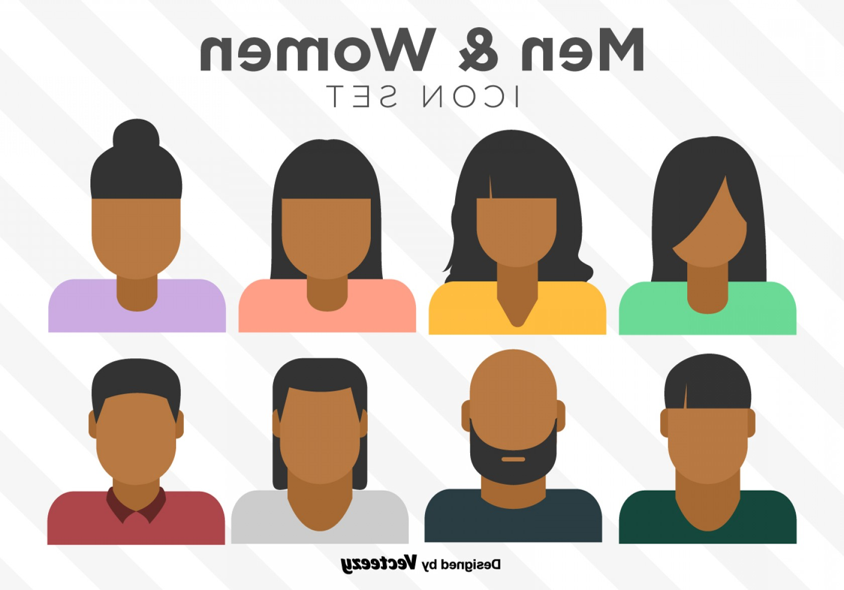 1680x1176 Vector Set Of Colorful Person Icons Lazttweet