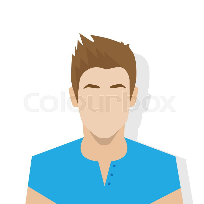 800x800 Profile Icon Male Avatar Portrait Casual Person Silhouette Face