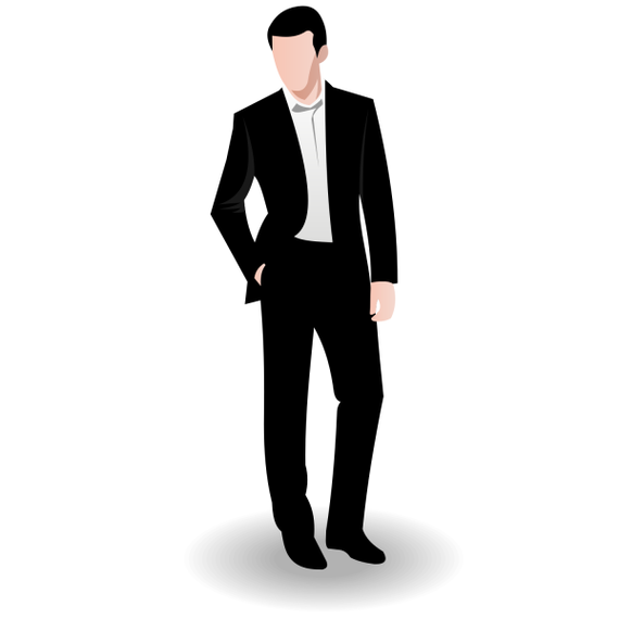 570x570 Business Man Vector