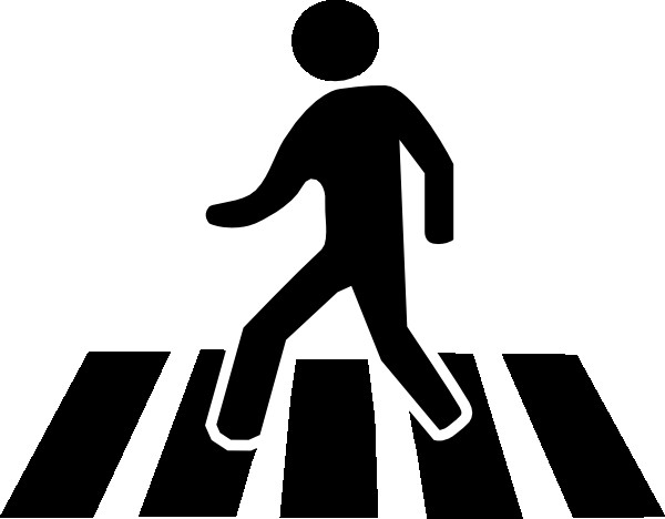 600x468 Silhouette Of Person Walking 13 Clipart