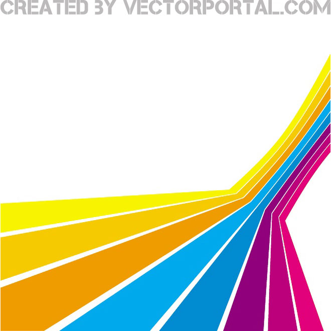 660x660 Abstract Stripes Perspective Free Vector 123freevectors