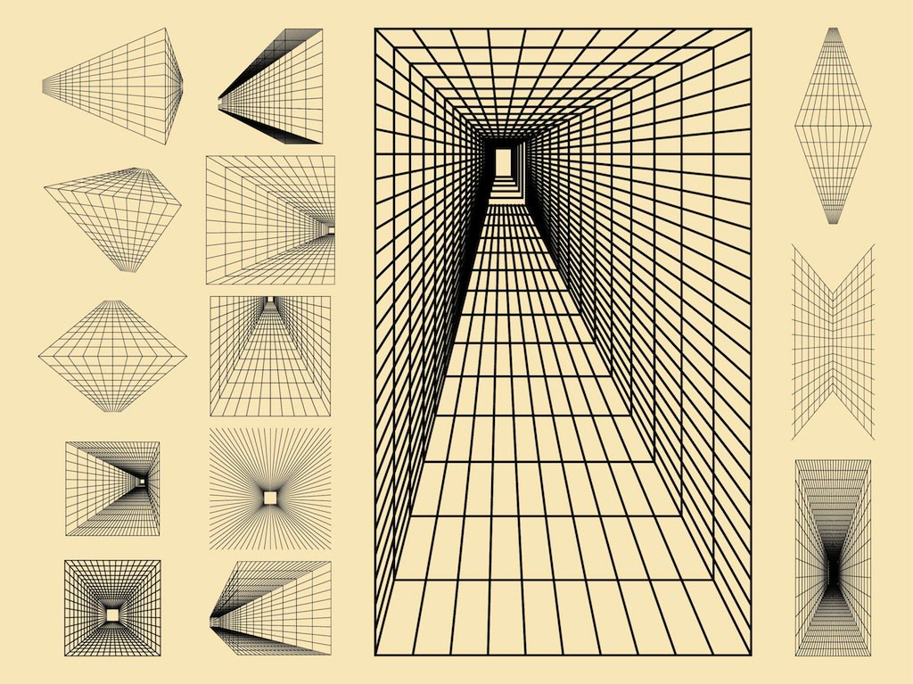 1024x767 Perspective Compositions Vector Art Amp Graphics