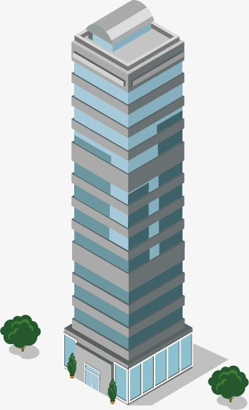 356x585 Building High Rise Housing Model Town Urban Real Estate