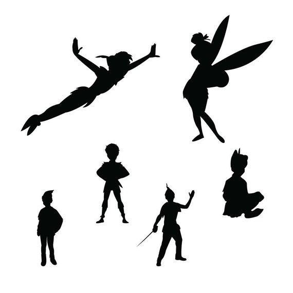 570x570 Peter Pan Svg Dxf Peter Pan Clipart Disney Svg Disney Etsy