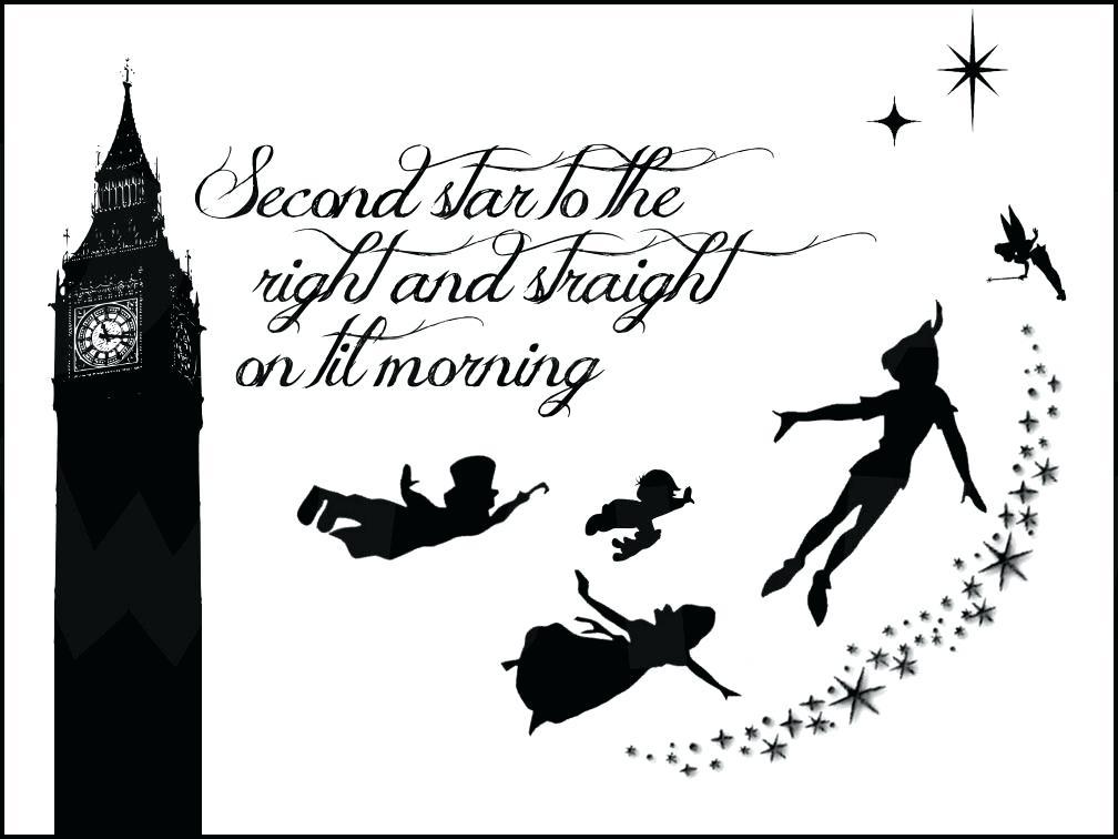 1008x756 Peter Pan Silhouette Vector Feather Peter Pan 3 Peter Pan Flying