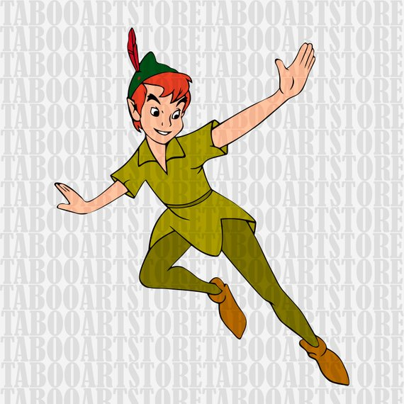 570x570 Peter Pan Svg Peter Pan File Peter Pan Epsdisney Peter Etsy