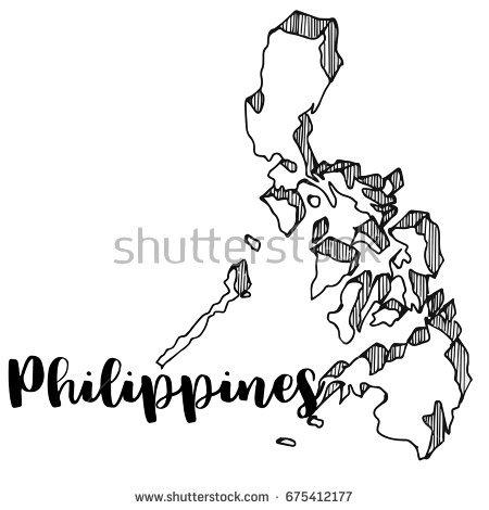 Philippine Map Vector