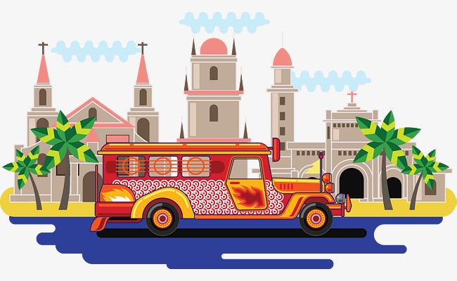 650x400 Philippine Rice Traditional Transportation Travel Tourist Bus