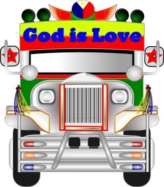 323x368 Philippine Jeepney Vector Free Vector Download (17 Free Vector