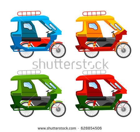 450x426 Collection Of Philippine Tricycle Vector Drawing High