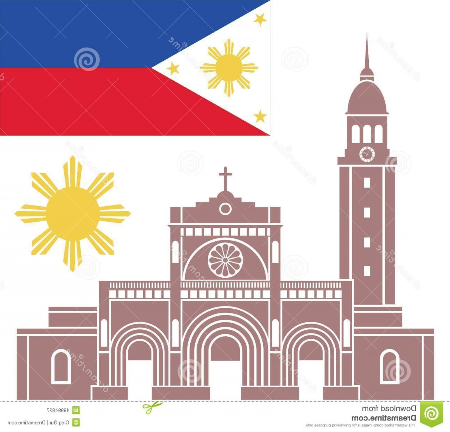 1560x1495 Stock Illustration Philippines Vector Illustration Eps Image Arenawp