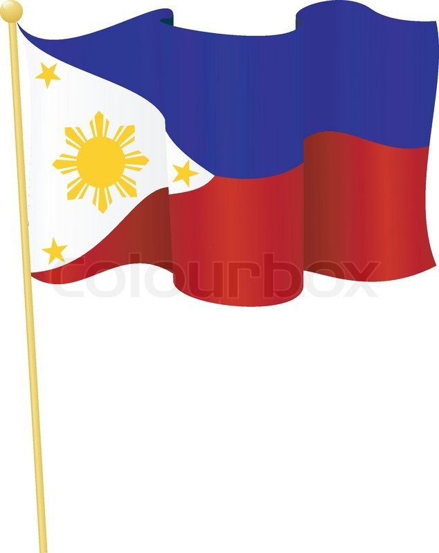 634x800 Vector Illustration Of The Flag Philippines Stock Vector Colourbox