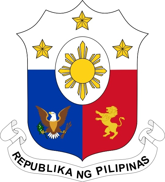 540x596 Coat Of Arms Of The Philippines Clip Art Free Vector In Open