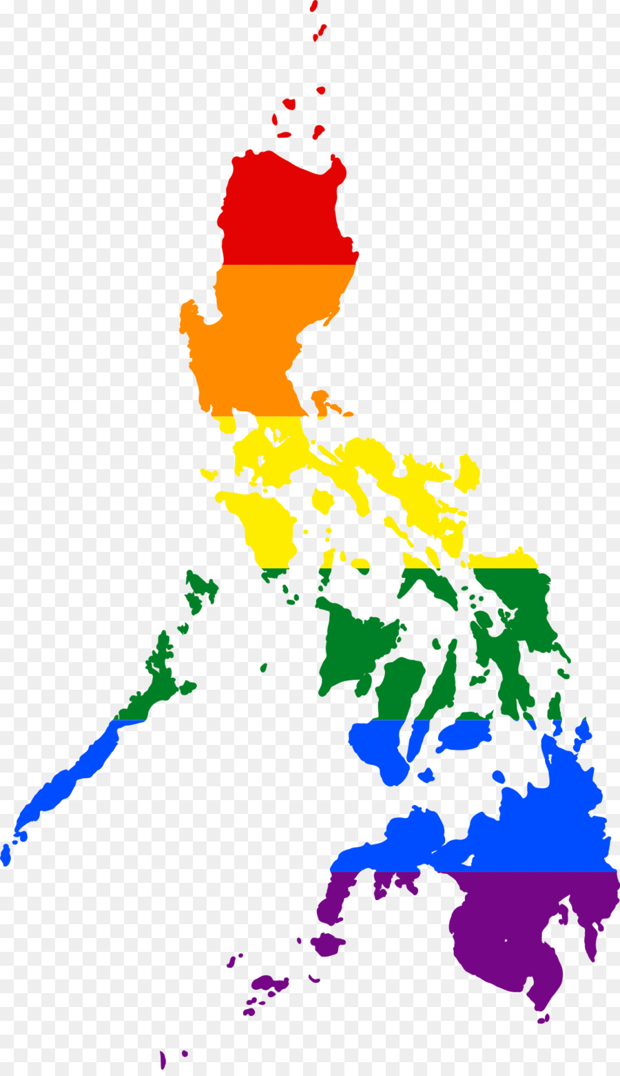 900x1560 Flag Of The Philippines Vector Map