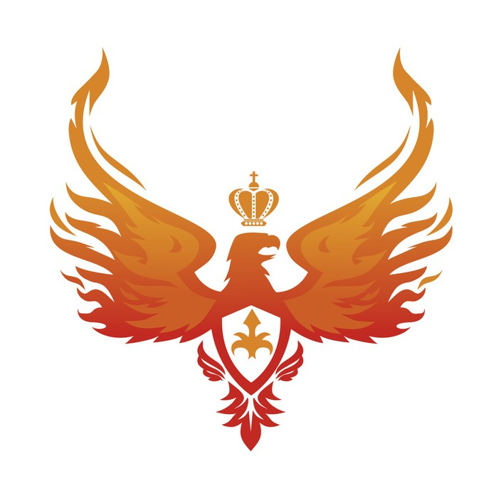 697x700 Imperial Phoenix Vector Image Poster We Live To Change
