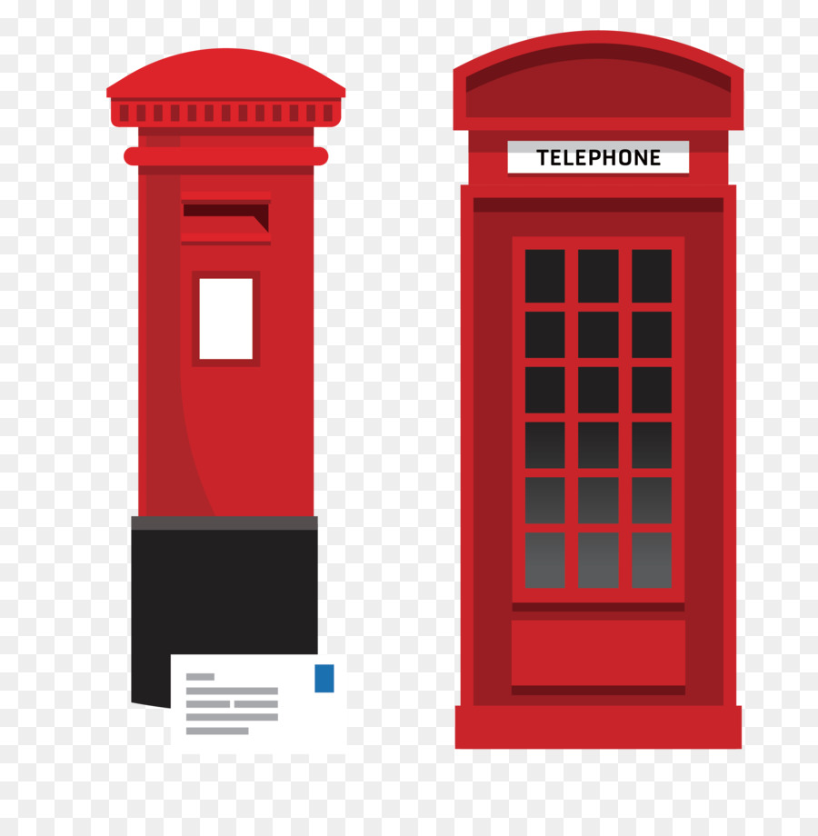 Phone Booth Vector
