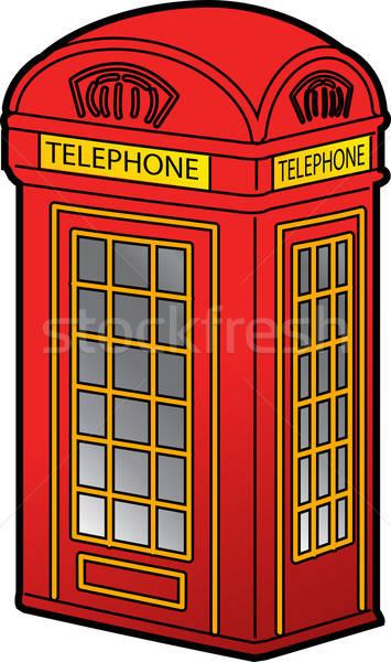 355x600 British Phone Booth Vector Illustration Kenny Kiernan