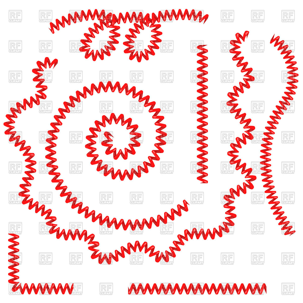 1200x1200 Red Telephone Cables Vector Image Vector Artwork Of Objects