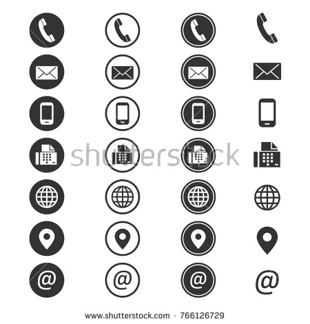 450x470 Cell Phone Email Icon