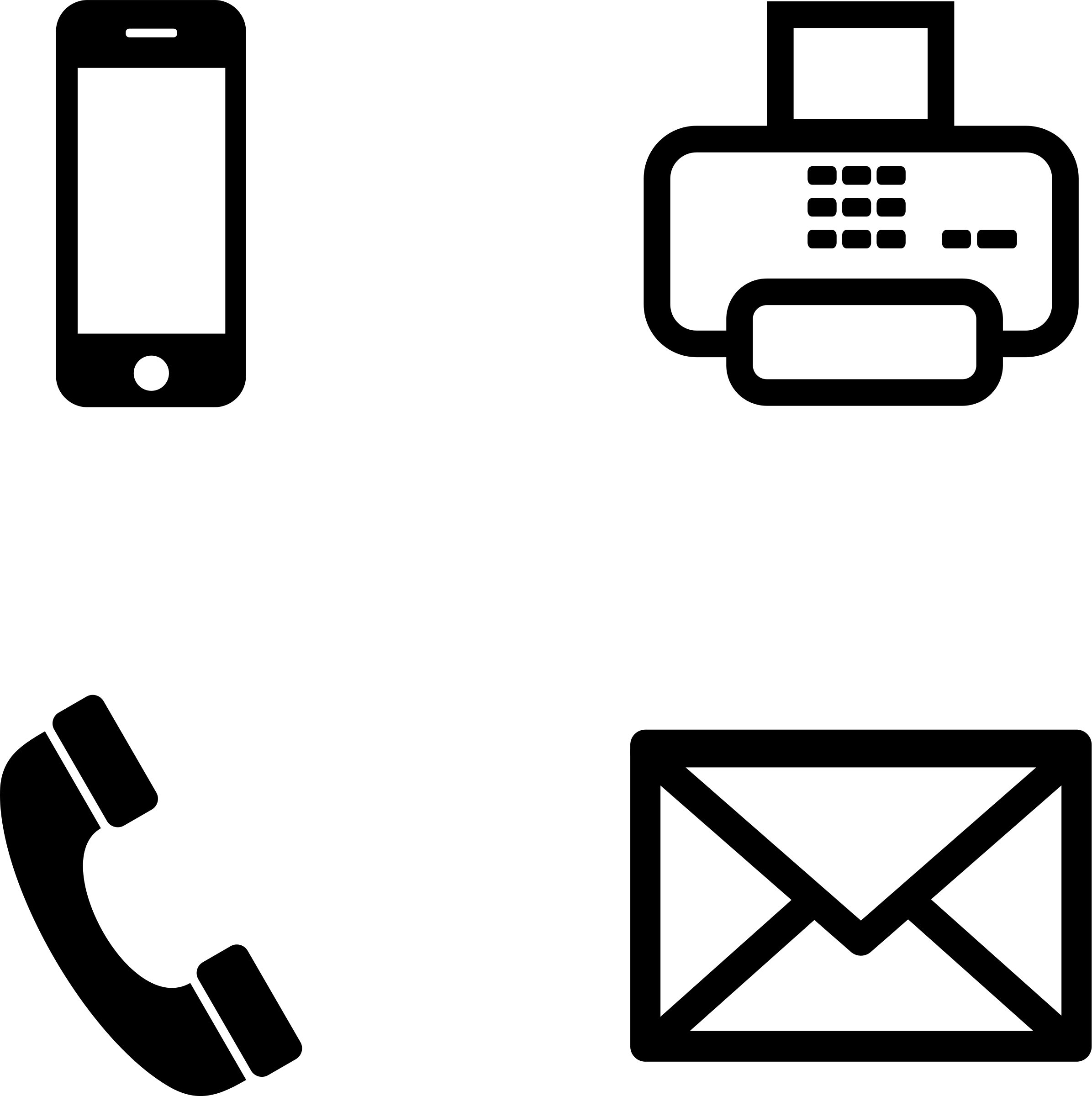 2391x2400 Phone Email Icons Free Icons