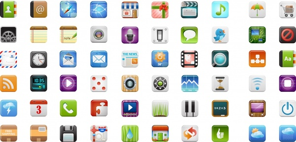 600x289 Icandies Fine Cell Phone Icon Vector Free Vector In Encapsulated