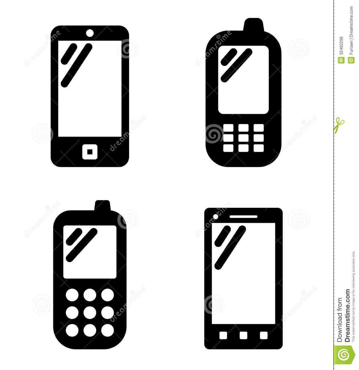 1260x1300 Phone Icon Vector Clipart Panda