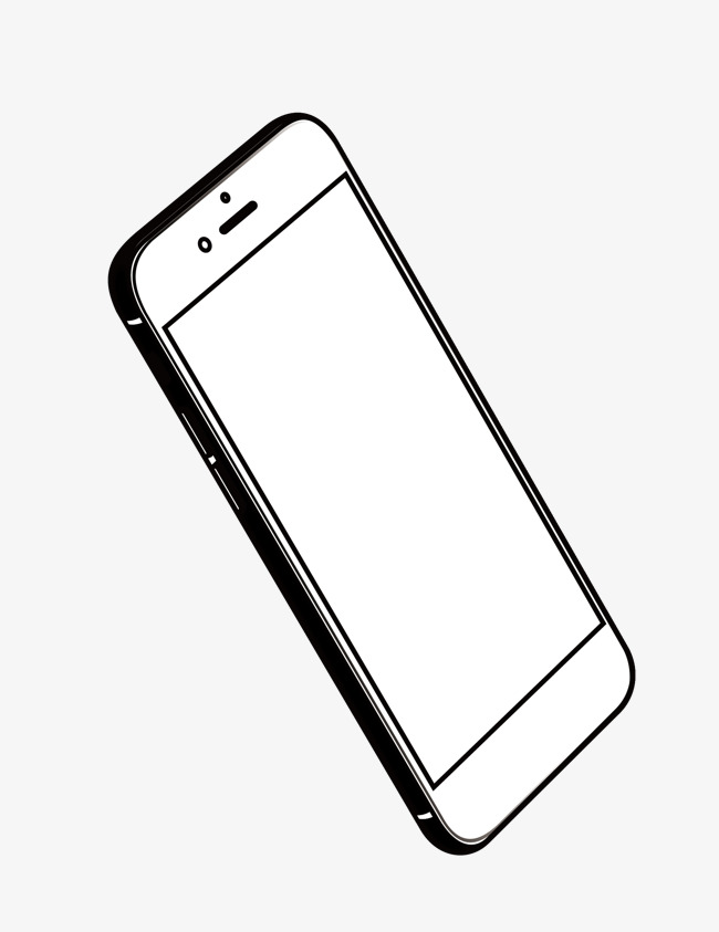 650x843 Vector Phone Line Drawing Icon, Phone Vector, Line Vector, Icon