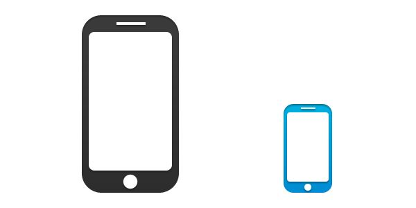 600x300 Cellular Phone Symbol Free Mobile Phone Icon Available In Psd