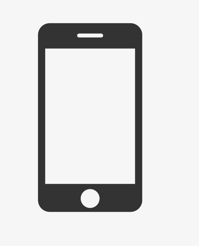 650x804 Black Mobile Phone Template, Black Vector, Mobile Vector, Phone