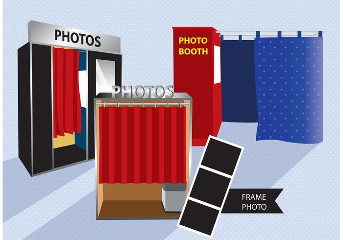 700x490 Photo Booth Vector