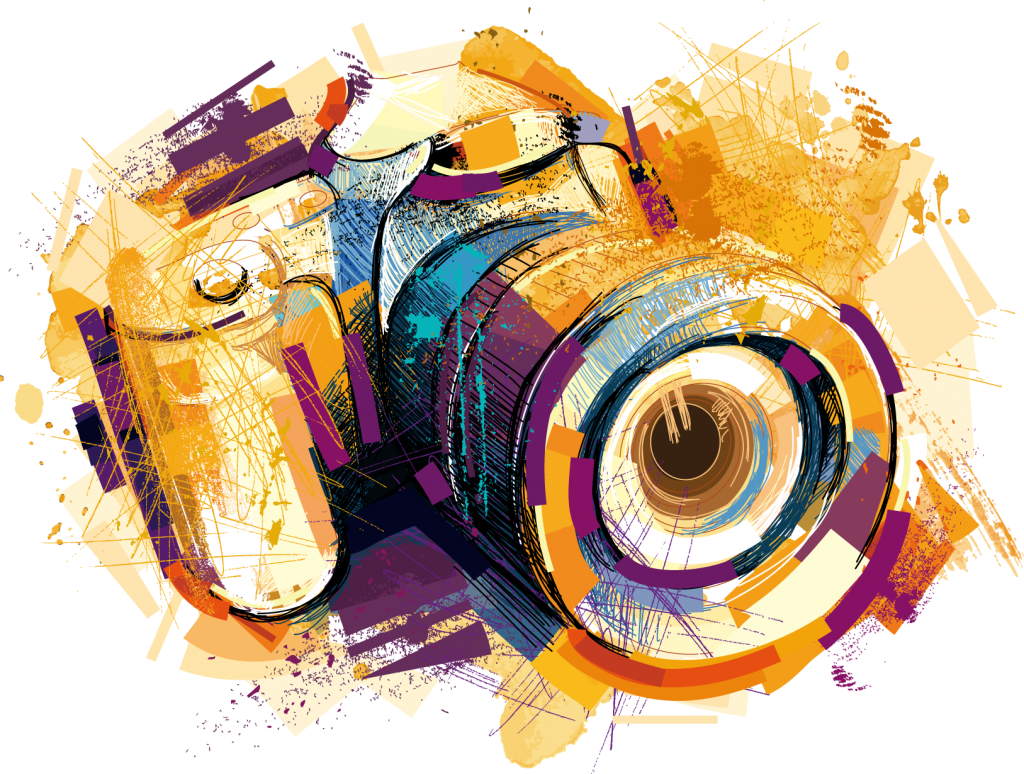 1024x774 Camera Vector Free Download