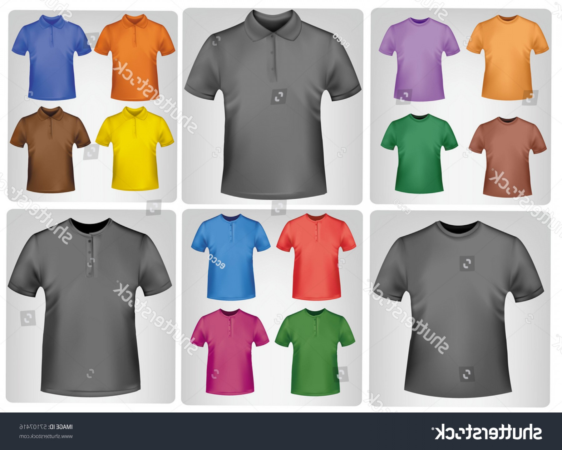 1800x1440 Black Colored Polo Shirts Photorealistic Vector Shopatcloth