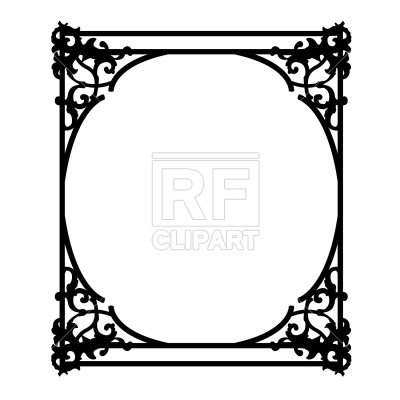 400x400 Old Ornate Frame Vector Image Vector Artwork Of Borders And