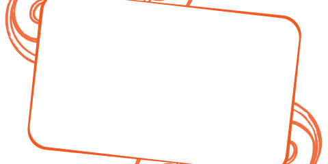 480x240 Text Frame Vector Graphic