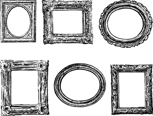 500x381 Classical Photo Frame Vector Material 01 Free Download