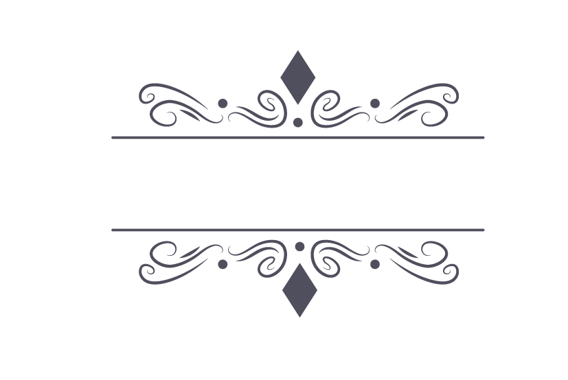 827x554 Decorative Frame Vector Png
