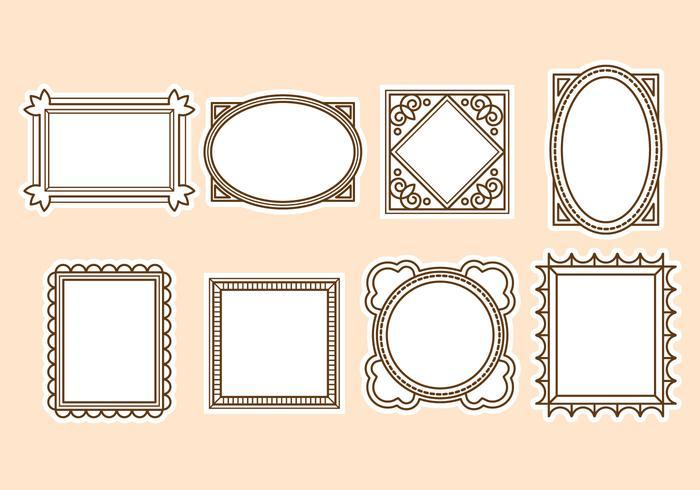 700x490 Text Frame Free Vector Art