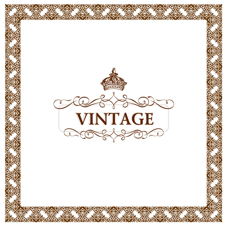 800x794 Vintage Frame Vector 9 Vector Sources