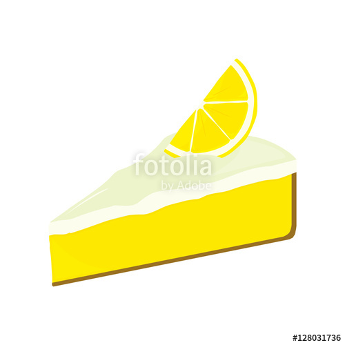 500x500 Lemon Pie Slice Stock Image And Royalty Free Vector Files On