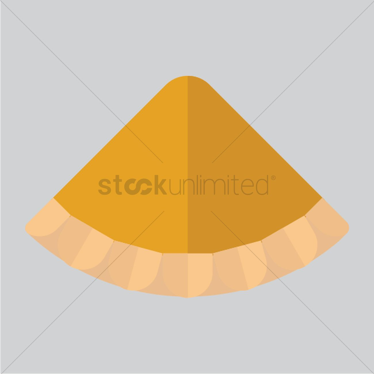 1300x1300 Pie Slice Vector Image