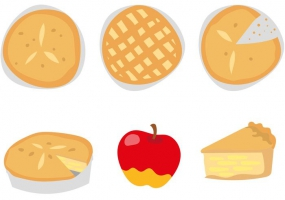 285x200 Apple Pie Slice Free Vector Graphic Art Free Download (Found 2,120